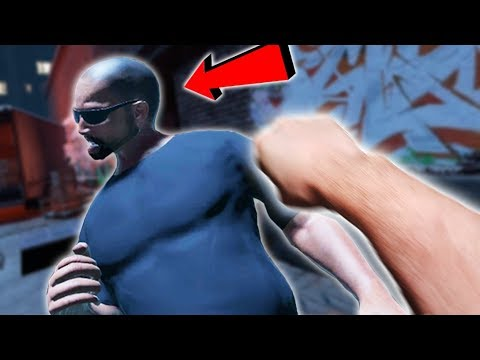 pummeling thugs in this ALLEY fight VR simulator - DRUNKN BAR FIGHT VR