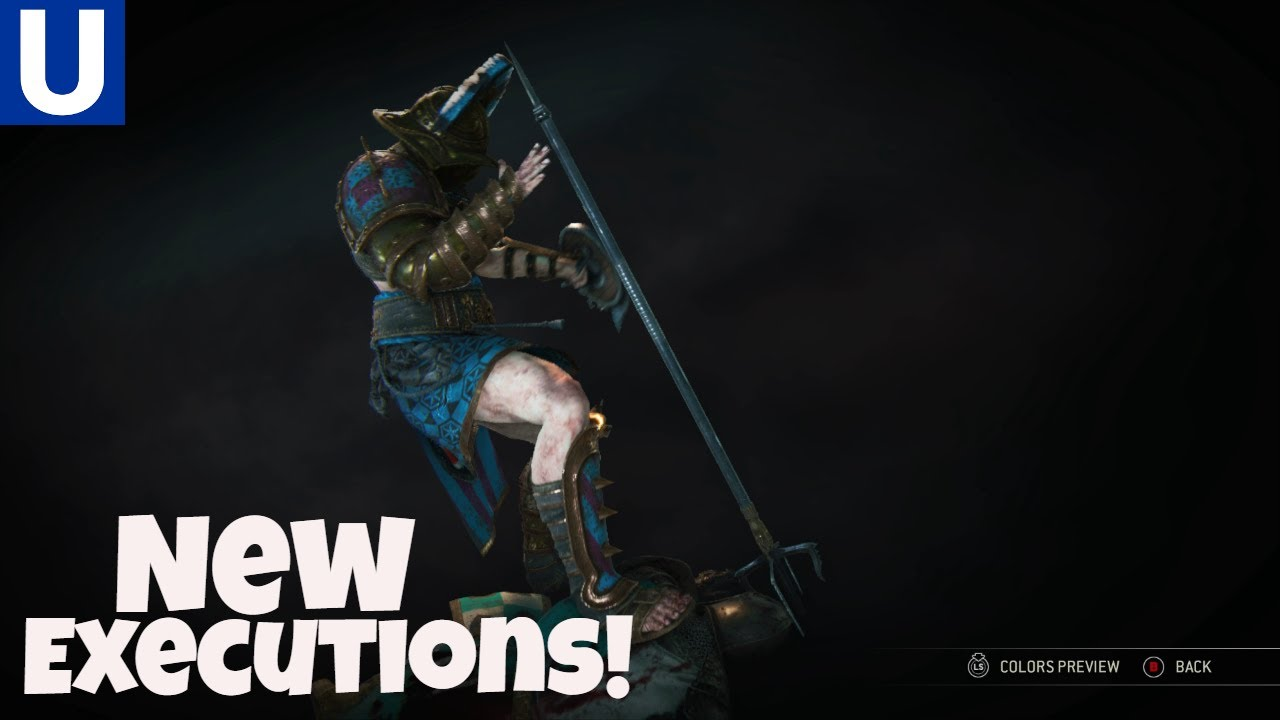 For honor new executions season 6 youtube - When is for honor season 6 ...