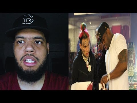 "[Reaccion] 50 Cent 6ix9ine Uncle Murda Casanova – ""Get The Strap"" (Official Music Video)"