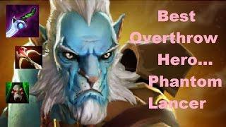 Dota 2 Overthrow BEST HERO -  Phantom Lancer on Reborn