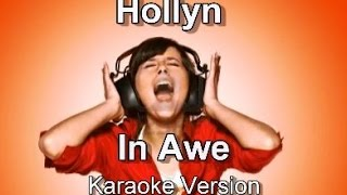 "Hollyn ""In Awe"" BackDrop Christian Karaoke"