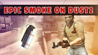 The smoke that will win you a long on dust2
