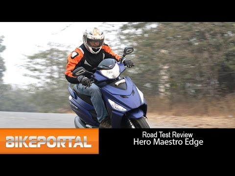 Hero Maestro Edge Test Ride Review- Bikeportal