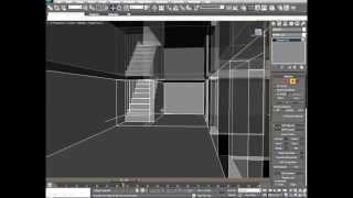How To Model In 3ds Max 'an Interior & Exterior Building' Part 3