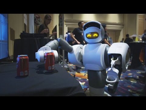 Download Youtube: This robot can get you a beer from the fridge | CES 2018