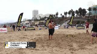Spikeball Roundnet Nationals 2018 - Pool Play - Craig and Corey vs. CHUNKY
