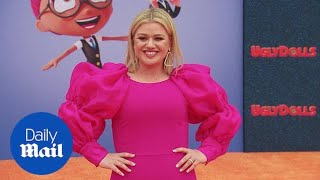Ugly never looked so good! Kelly Clarkson at UglyDolls premiere