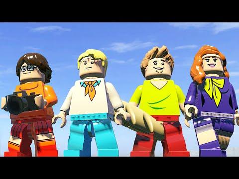 КОМАНДА СКУБИ-ДУ в LEGO Marvel Super Heroes