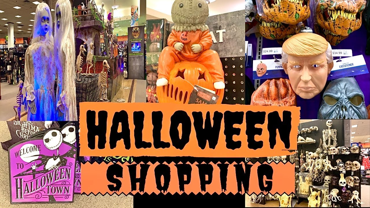 Halloween Shopping Vlog 2019|Spirit Halloween | PartyCity | Dollarama | Canada w/English subtitle