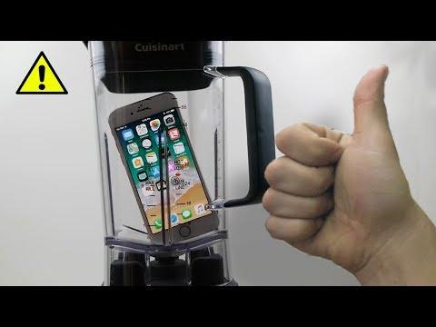 iPHONE 8 vs БЛЕНДЕР !