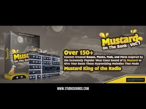 Mustard On The Bank Vol 1 - Dj Mustard Style Massive Bank