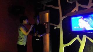 4/1/2014 Akira hát karaoke cùng các a e bạn bè bài Không Gi