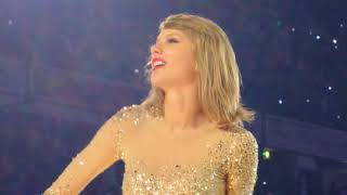 Taylor swift Out Of The Woods Manchester 1989 tour