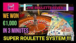 We Won €1,000 in 3 Minutes | SUPER ROULETTE SYSTEM!! | TheRouletteFever