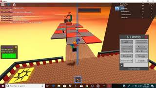 Roblox Sword fight exploit trolling