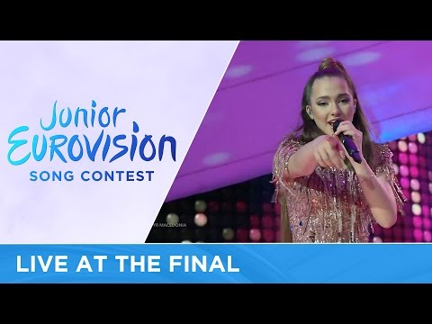 Martija Stanojković - Love Will Lead Our Way (F.Y.R. Macedonia) LIVE Junior Eurovision 2016