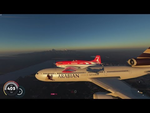 The Crew 2: Air Race. Chase With The Passenger Planes