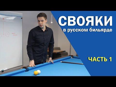 """""""СВОЯКИ"""" В РУССКОМ БИЛЬЯРДЕ. Часть 1"""