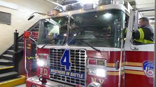 FDNY Rescue 4 responds to Box 4694