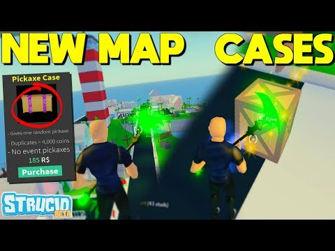 *NEW* STRUCID Map UPDATE, PICKAXE CASES, CRATES, AND MORE!