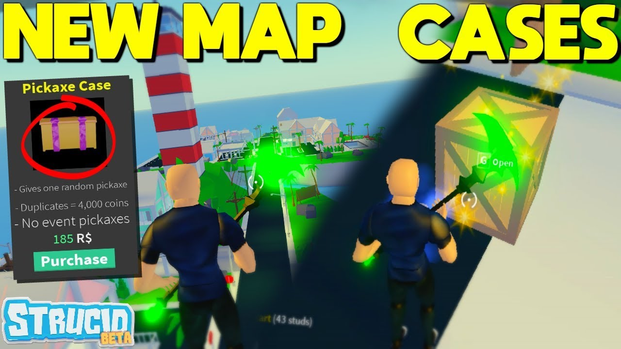 *NEW* STRUCID Map UPDATE, PICKAXE CASES, CRATES, AND MORE ...