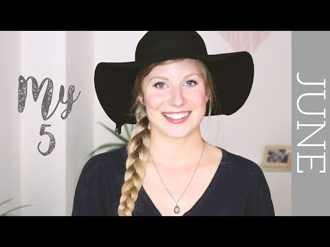 June 'My 5' | eco friendly favourites
