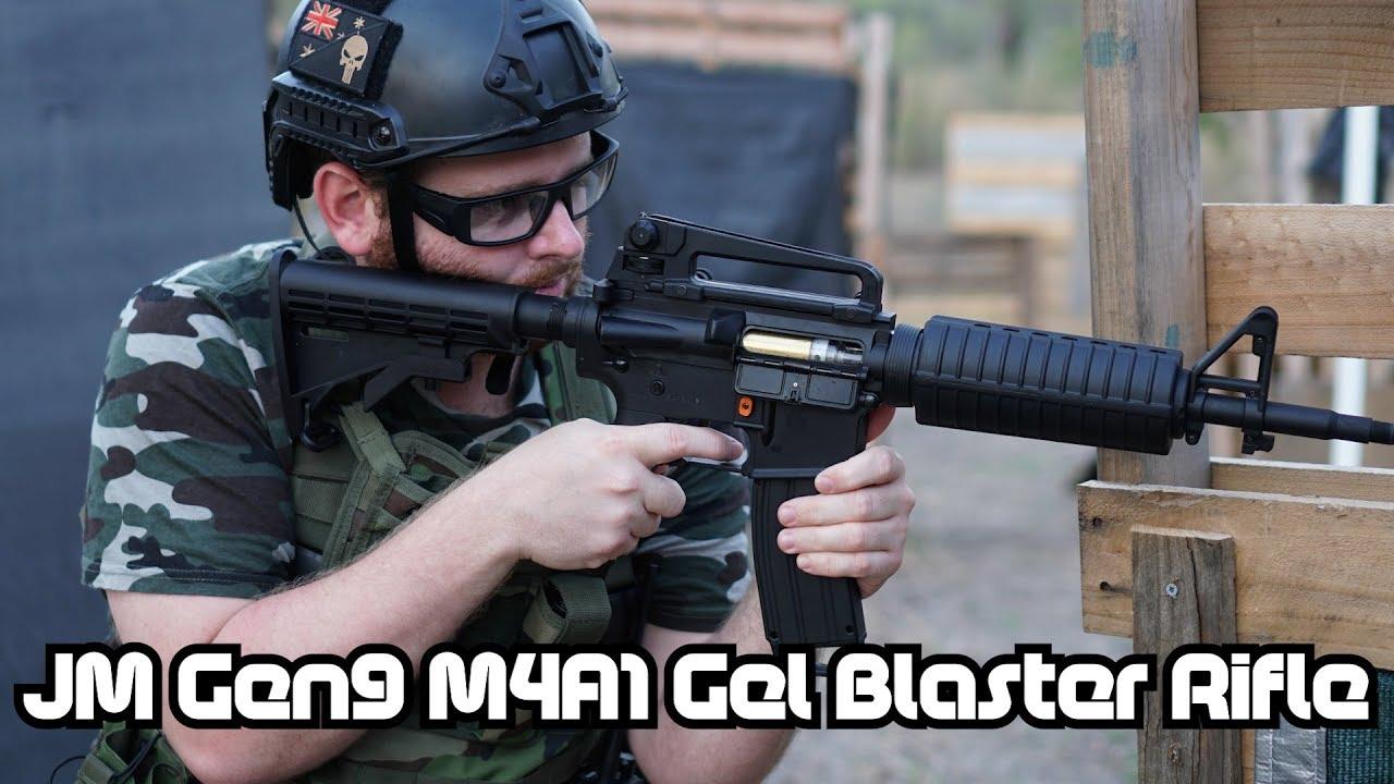 Jin Ming M4A1 Gen 9 Gel Blaster Rifle Review - Conflicted feelings