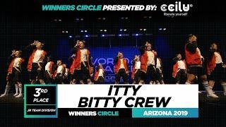 Itty Bitty Crew   3rd Place Jr Team Division   Winners Circle World of Dance Arizona 2019   #WODAZ19