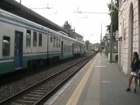 Milano porta garibaldi chiasso a seregno con incrocio - Treno milano porta garibaldi bergamo ...