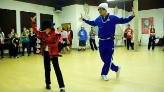 【驚愕ダンス】マイケルジャクソンを完コピする若干8才の天才キッズダンサー with 世界的ダンサー ケントモリ マイケル 検索動画 14