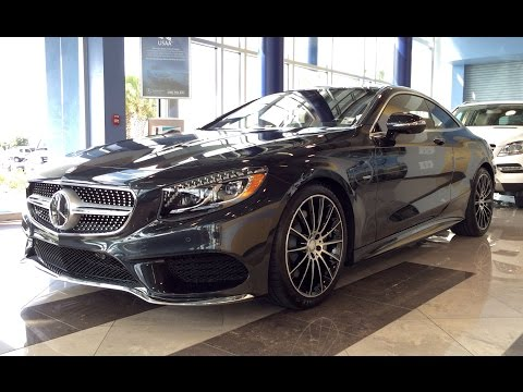 2015 Mercedes Benz S Class: S550 4Matic Coupe Edition 1 Full Review