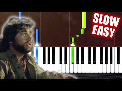 Toto - Africa - SLOW EASY Piano Tutorial by PlutaX
