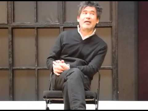 David Henry Hwang YELLOW FACE Q and A PART 1: Park Theatre, London