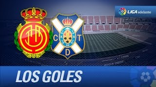 Todos los goles de RCD Mallorca (2-1) CD Tenerife