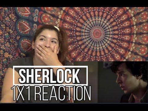 "Sherlock 1x1 ""A Study In Pink""Reaction"