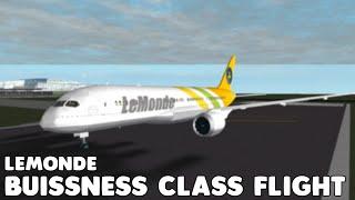 LeMonde 787-8 Business Class Flug | Roblox