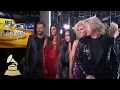 Demi Lovato and Little Big Town Dance Like The Bee Gees | Backstage | 59th GRAMMYs video & mp3