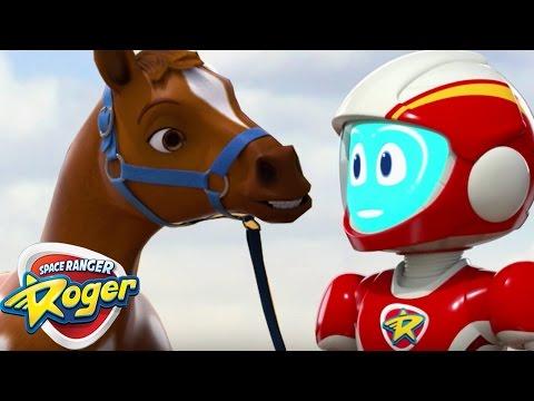 Space Ranger Roger | Roger Horses Around |...