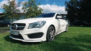 Mercedes benz CLA 200 AMG Pack ТЕСТ ДРАЙВ 2016
