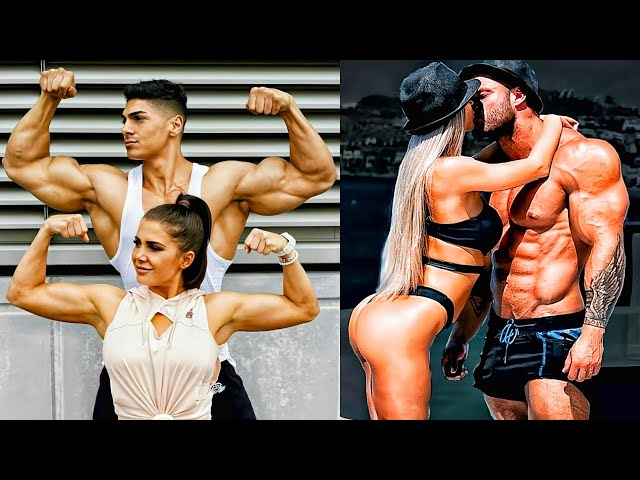 TOGETHER ❤ COUPLE WORKOUT FITNESS MOTIVATION BY GYM FASHION ***PART 1****