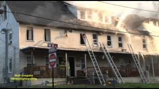 Multifamily burns in Northbridge, Ma