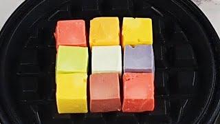 Fruit Rainbow Cheese Jelly, 과일 맛 무지개 치즈 젤리,   #Shorts