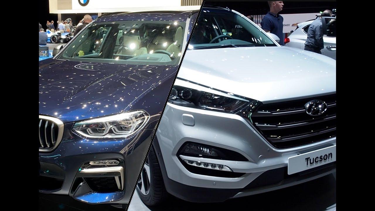 Bmw X3 2020 Vs Hyundai Tucson 2020 Youtube