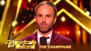 Comedian Taylor Williamson: Are foreigners Takeing American Jobs? | America's Got Talent: Champions