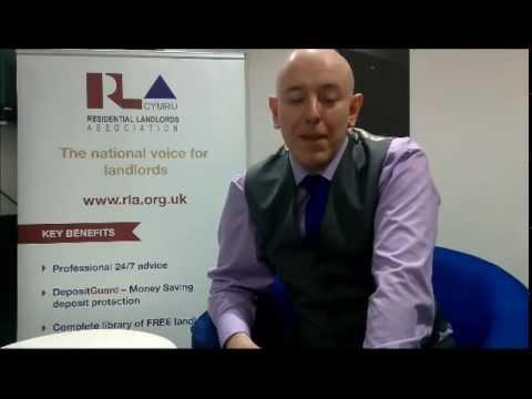 Douglas Haig discusses Rent Smart Wales
