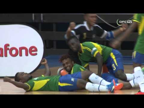 2016 OFC FUTSAL CHAMPIONSHIP | SOLOMON ISLANDS vs NEW ZEALAND