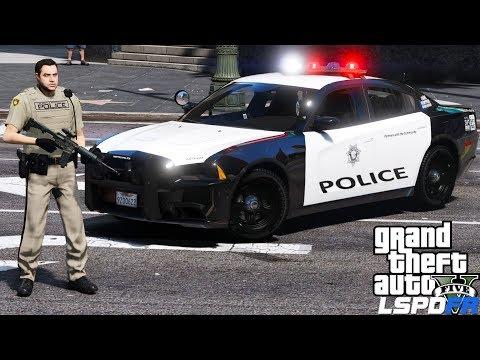 GTA 5 LSPDFR Police Mod 472   Los Santos Metropolitan Police Department   Crazy Day On The Boulevard