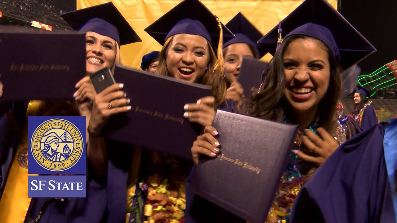 Diploma Reception San Francisco State Commencement 2016 Youtube