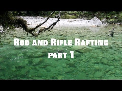 Rod and Rifle Rafting - Karamea river