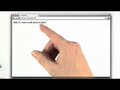 Using HTML Escaping - Web Development